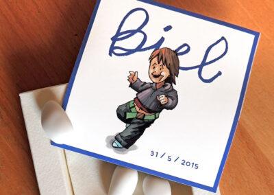Biel – capsa de caramels
