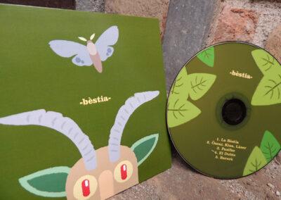 Bèstia – disseny de CD