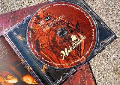Malaventura – disseny d'LP