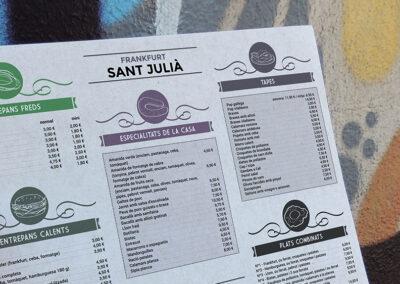 Frankfurt Sant Julià – estovalles