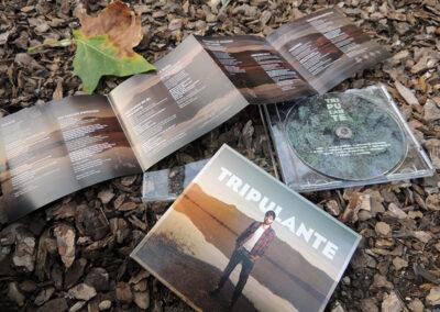 Tripulante – disseny de CD