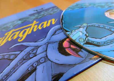 Yataghan – disseny de CD