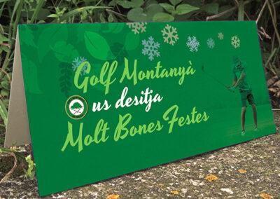 Golf Montanyà – Felicitación de Navidad