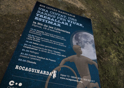 Coop Rocaguinarda – cartell