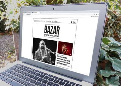 Bazar Show Magazine – web
