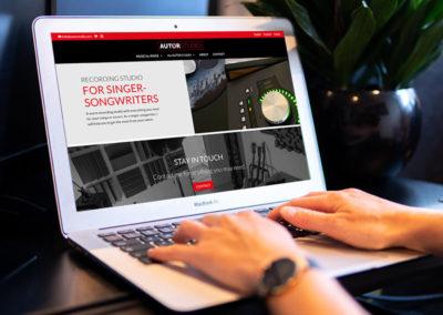 Autor Studio web